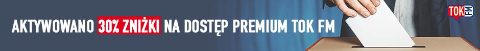 Dostęp Premium TOK FM 30% taniej
