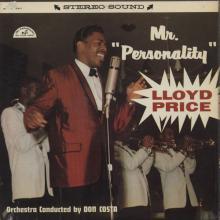 Lloyd Price — Mr. PERSONALITY